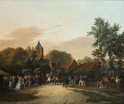 Pouwelsen - Ringsteken op Oranjeplein te Oost-Souburg