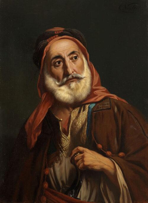 Charles (Karel) Verlat - An Oriental (Palestine) man