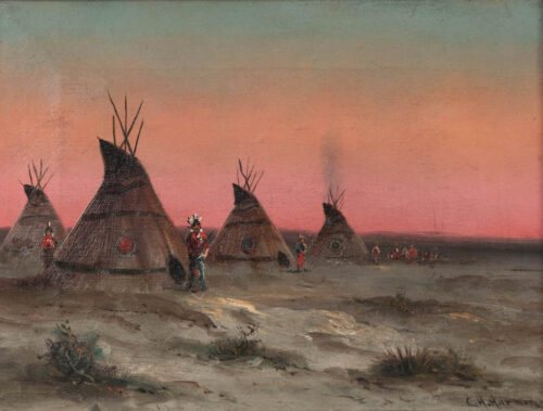 Charles Henry Harmon - Plains Indians from the San Jose/SF Peninsula