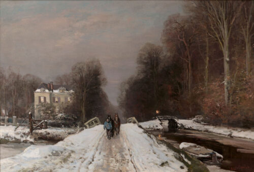 Louis Apol - Winter in the Haagse Bos