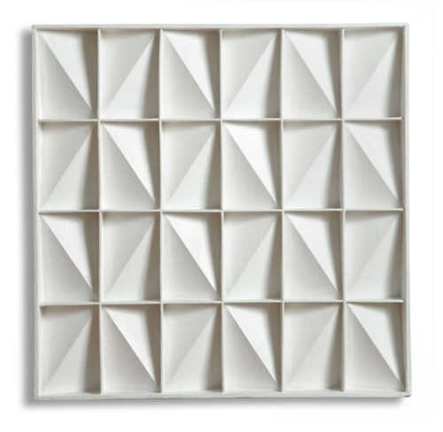 Jaap Egmond - Abstract geometric relief ; 24 vlakken