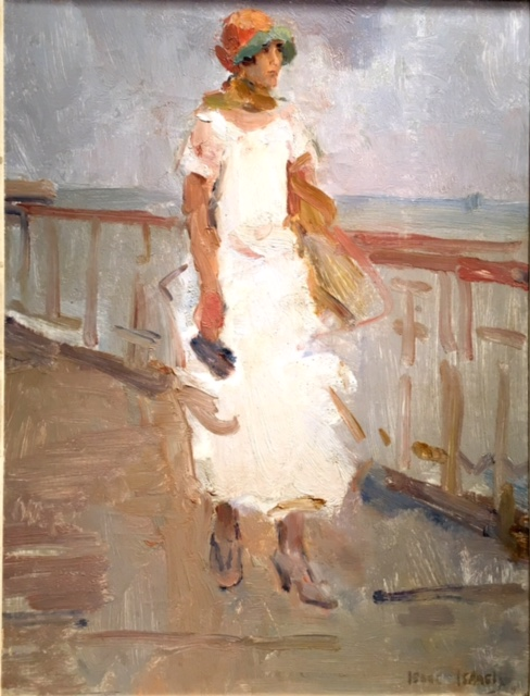Isaac Israëls - Strolling on the Pier, Scheveningen