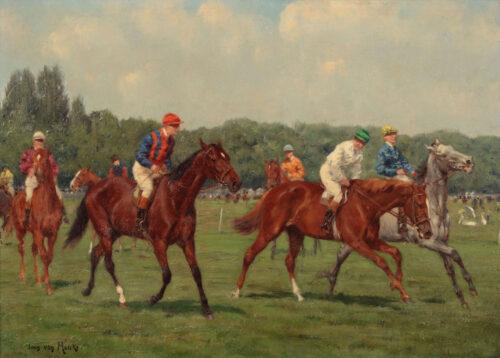Jean van Marcke de Lummen - Courses at Newmarket