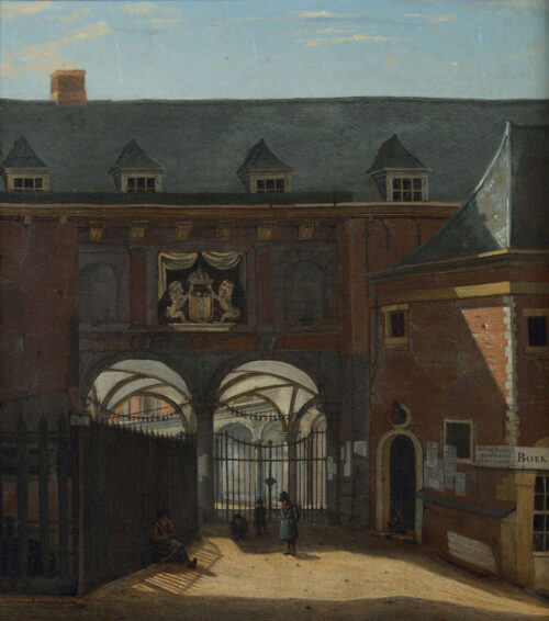 Hendrik Gerrit ten Cate - Beurspoortje Amsterdam
