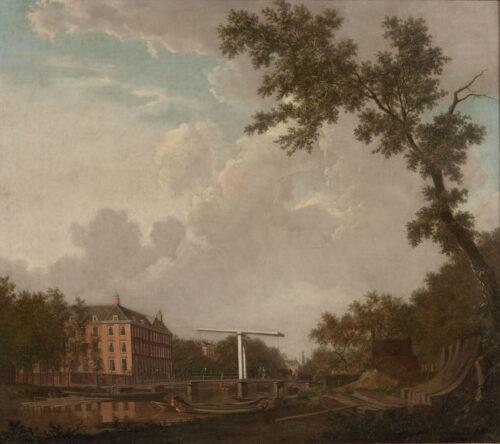 Gerrit Toorenburgh - View of Plantage Muidergracht