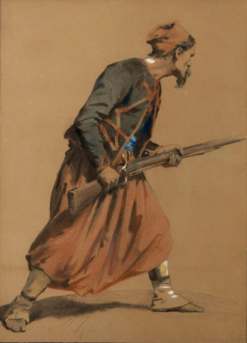 Henri Campotosto - A Zouave