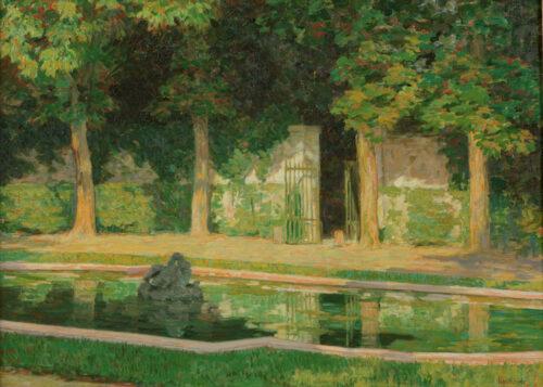 Sigisbert Chretien Bosch Reitz - Trianon sous bois, Versaille