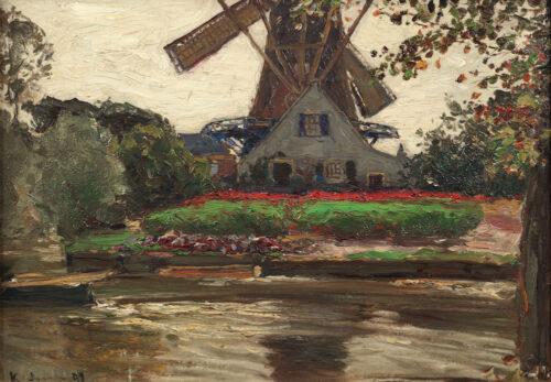 Hans von Bartels - Truncated Mill, Katwijk