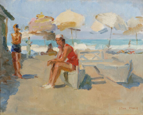 Isaac Israels - Lido Beach, Venice