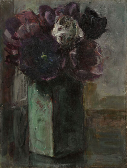 Floris Verster - Purple and white tulips in a Delft vase.jpg