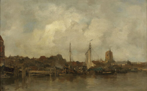Jacob Maris - View of Dordrecht