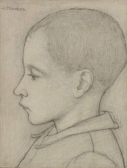 Jan Mankes - Boy from the village of Knipe