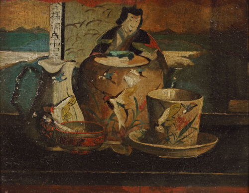 Lizzy Ansingh - A stillife with Japanese objects