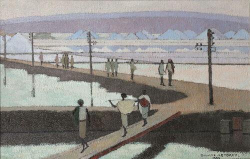 Suzanne Dumond-Letorey - Saltworks in Djibouti