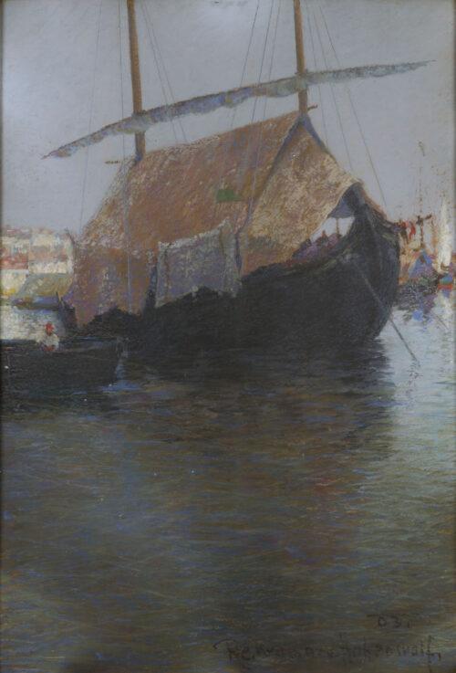 Richard Conrad Kromar von Hohenwolf - Harbour of Gravosa