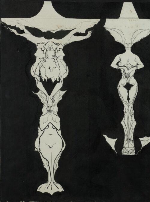 Christophe Carel Henri de Nerée tot Babberich -  Rococo Vases