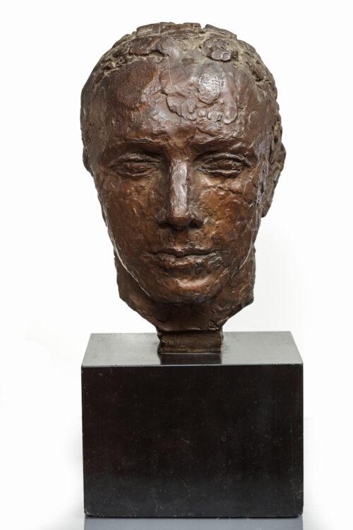 Charles Despiau -  Portrait of the Polish painter Eugen Zak