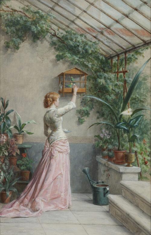 Otto Eerelman - In the conservatory