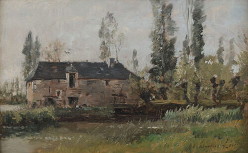 Maurice Levis - La Ferme (the Farm)