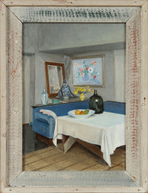 Dirk Smorenberg -  Inside the house of the artist, Oud Loosdrecht