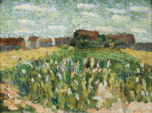 Otto van Rees - Fields in Fleury-en-Biere, France