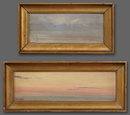 James Humbert Craig - Sunsets-sketches