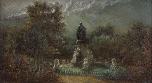 Jan Kuijpers - Monument to Joost van den Vondel, Vondelparc, Amsterdam