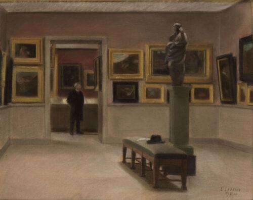 Louise Renee Lacroix - A museum visit