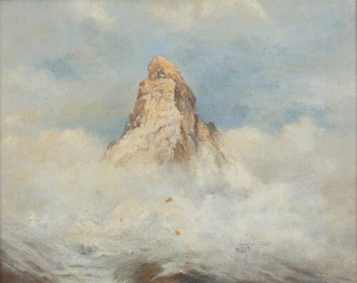 Cecil Arthur Hunt - The Matterhorn