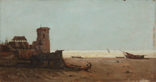 Jean Baptiste Henri Durand Brager - View of the Bosphorus