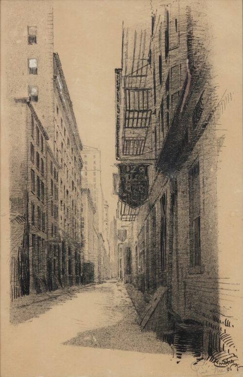 Sigisbert Chretien Bosch Reitz - Pine Street New York