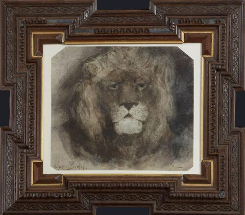 Armand Heins-Head of a Lion
