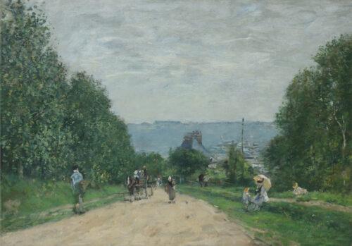 Eugene Boudin-Chemin des Boeufs