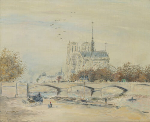 Jean-François Raffaelli-Notre Dame