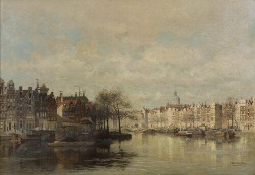 Johannes Christiaan Klinkenberg-View of the Binnenkant