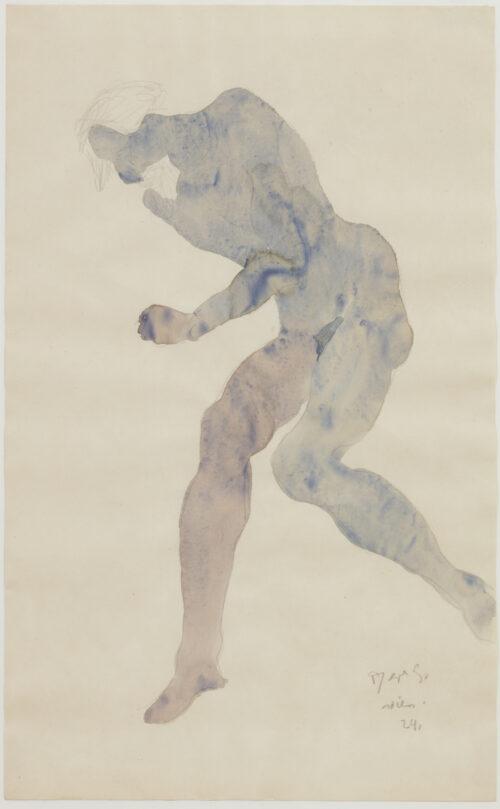 Reyer Stolk - Reclining Nudes - blue