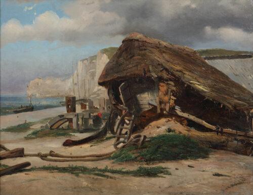 Willem Anthonie van Deventer-Etretat Normandy