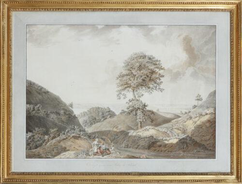 Willem Carel Hoogers- View of valley Beek