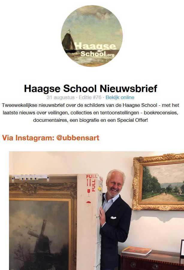 Nieuwsbrief Haagse School