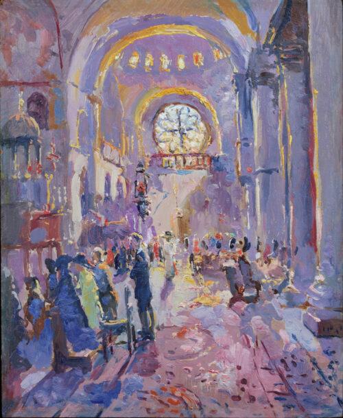 Adrien-Jean le Mayeur de Merpres - Interior of Saint Marco, Venice