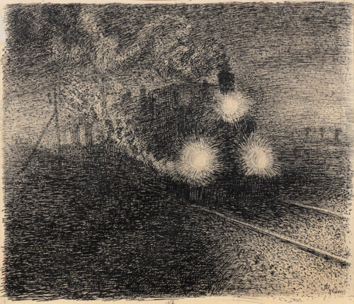 Dirk Nijland - The Steamtrain, Rhoon