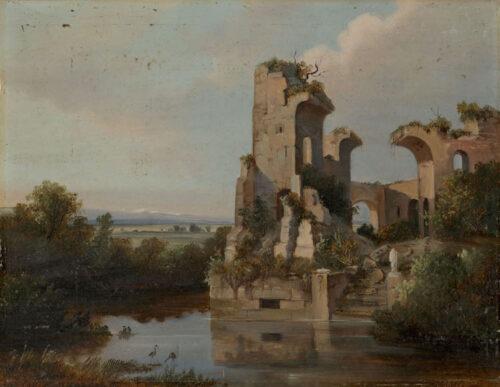 Franz Wilhelm Schiertz - Ruin of the Monastery of Selje, Norway