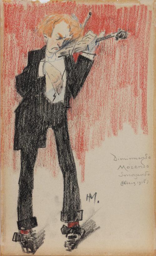 Herman Moerkerk - The violin player