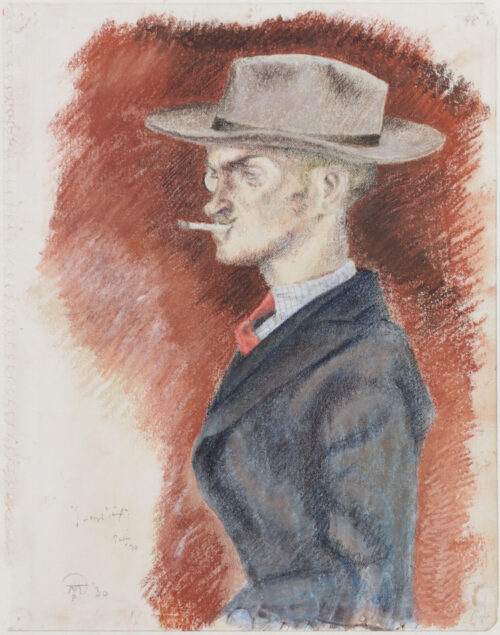 Joseph Teixeira de Mattos - Portrait of Joseph Senf