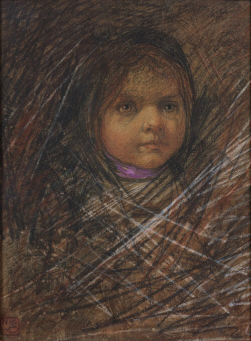 Nico Jungmann - Portrait of a young girl