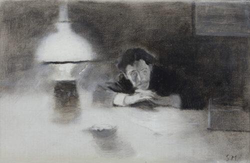 Serafino Macchiati - A self-portrait
