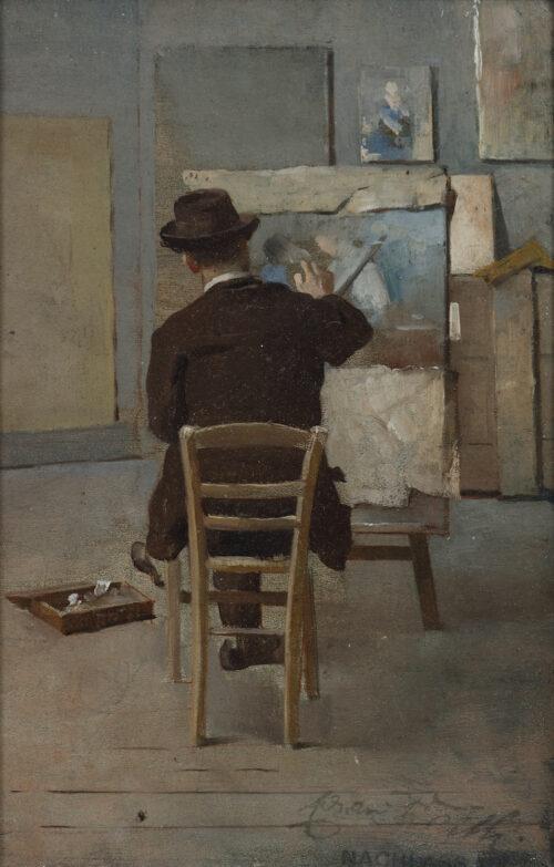 Eduard Veith-In the studio