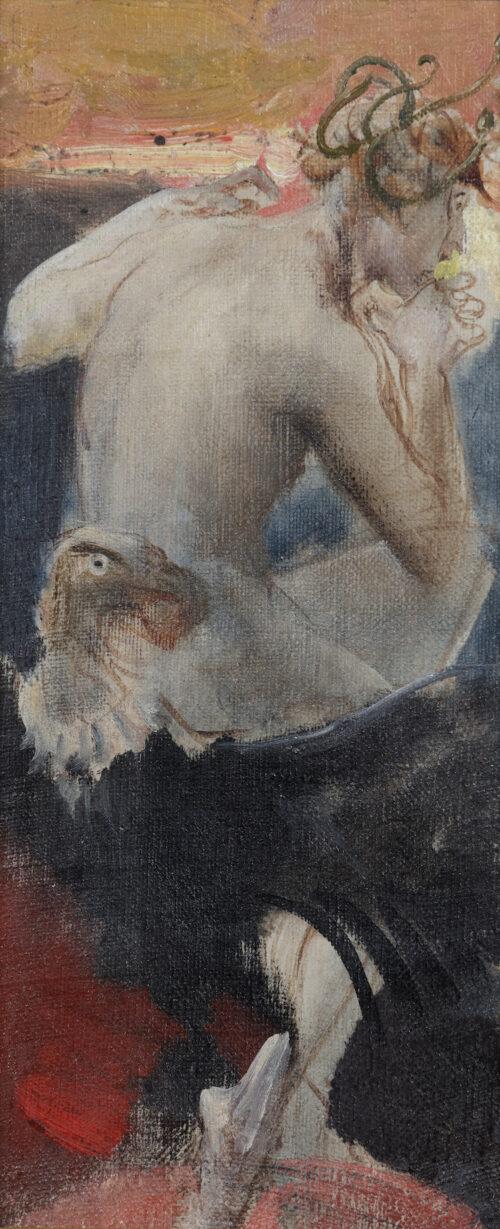 Eduard Veith-Medusa, a sketch