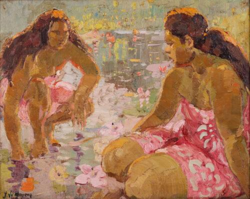 Adrien-Jean le Mayeur de Merpres-Tahiti women