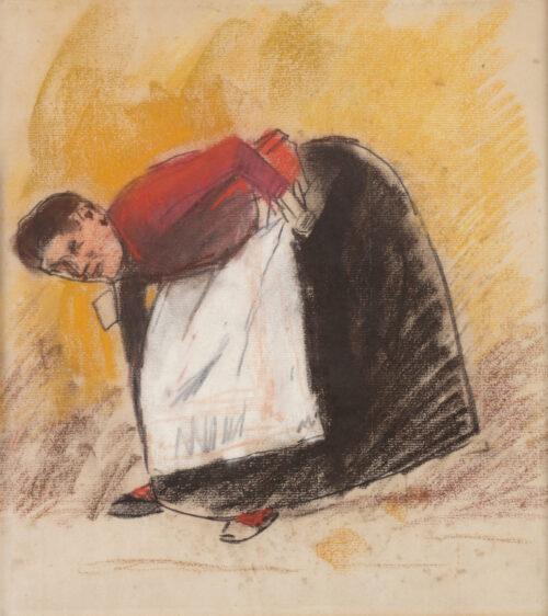 George Hendrik Breitner-An Amsterdam washerwoman